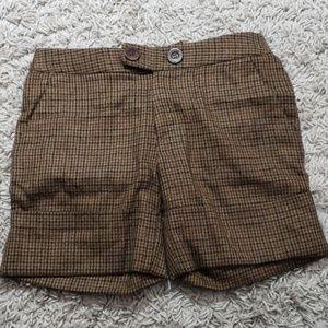 Catherine malandrino tweed shorts
